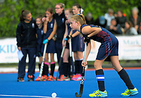 Action from the AIMS games girls' hockey match between St Cuthbert's and Diocesan at Tauranga Hockey Centre in Mount Maunganui, New Zealand on Thursday, 14 September 2017. Photo: Dave Lintott / lintottphoto.co.nz