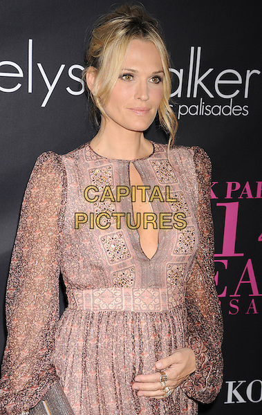 SANTA MONICA, CA- OCTOBER 18: Actress/model Molly Sims attends Elyse Walker presents the 10th anniversary Pink Party hosted by Jennifer Garner and Rachel Zoe at HANGAR 8 on October 18, 2014 in Santa Monica, California.<br /> CAP/ROT/TM<br /> &copy;Tony Michaels/Roth Stock/Capital Pictures