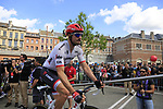 John Degenkolb (GER) Trek-Segafredo at sign on in Verviers before the start of Stage 3 of the 104th edition of the Tour de France 2017, running 212.5km from Verviers, Belgium to Longwy, France. 3rd July 2017.<br /> Picture: Eoin Clarke | Cyclefile<br /> <br /> <br /> All photos usage must carry mandatory copyright credit (&copy; Cyclefile | Eoin Clarke)