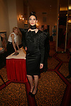 Model in Tyrell Mason -Couture Fashion Week Fall 2013 Collections  Day 3, The New Yorker Grand Ballroom, NY 2/17/13