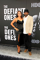 "LOS ANGELES - JUN 22:  Christine Clemons, Inny Clemons at ""The Defiant Ones"" HBO Premiere Screening at the Paramount Theater on June 22, 2017 in Los Angeles, CA"