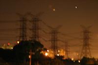 Sao Paulo_SP, Brasil...Torres de energia eletrica em Sao Paulo...Electrics towers in Sao Paulo...Foto: LEO DRUMOND / NITRO