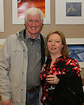 Eric and Helen O'Neill at the Opening of the Mid Louth Camera Club Landscape and Wildlife Photography Exhibition in St.Peters Church of Ireland...(Photo credit should read Jenny Matthews/NEWSFILE)...