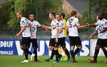 2018-07-11 / Voetbal / Seizoen 2018-2019 / Union Saint-Gilloise - KV Mechelen / KV Viert de 0-2 van Rob Schoofs<br /> <br /> ,Foto: Mpics