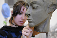 - Milano, Accademia di belle Arti di Brera, laboratorio di scultura<br /> <br /> - Milan, the Brera Academy of Fine Arts, sculpture workshop