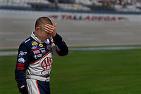 Apr 29, 2006; Talladega, AL, USA; Nascar Nextel Cup driver Mark Martin of the (6) AAA Ford Fusion during qualifying for the Aarons 499 at Talladega Superspeedway. Mandatory Credit: Mark J. Rebilas-US PRESSWIRE Copyright © 2006 Mark J. Rebilas.