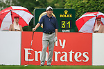 Peter Lawrie (IRL) waits to tee off on the 1st tee to start his round during of Day 3 of the BMW International Open at Golf Club Munchen Eichenried, Germany, 25th June 2011 (Photo Eoin Clarke/www.golffile.ie)