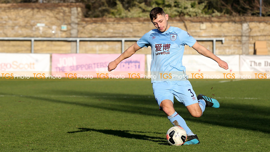 Matty Rain of Burnley U23's in action during Crystal Palace Under-23 vs Burnley Under-23, Premier League Cup Football at Champion Hill Stadium on 6th February 2020