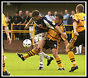 24/8/02         Copyright Pic : James Stewart                     .File Name : stewart-alloa v falkirk 09.FALKIRK'S LEE MILLER IS CHALLENGED BY ALLOA'S CRAIG VALENTINE.....James Stewart Photo Agency, 19 Carronlea Drive, Falkirk. FK2 8DN      Vat Reg No. 607 6932 25.Office : +44 (0)1324 570906     .Mobile : + 44 (0)7721 416997.Fax     :  +44 (0)1324 570906.E-mail : jim@jspa.co.uk.If you require further information then contact Jim Stewart on any of the numbers above.........
