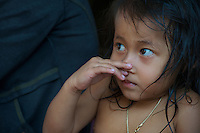 People and children of the Tonle Sap Lake Cambodia