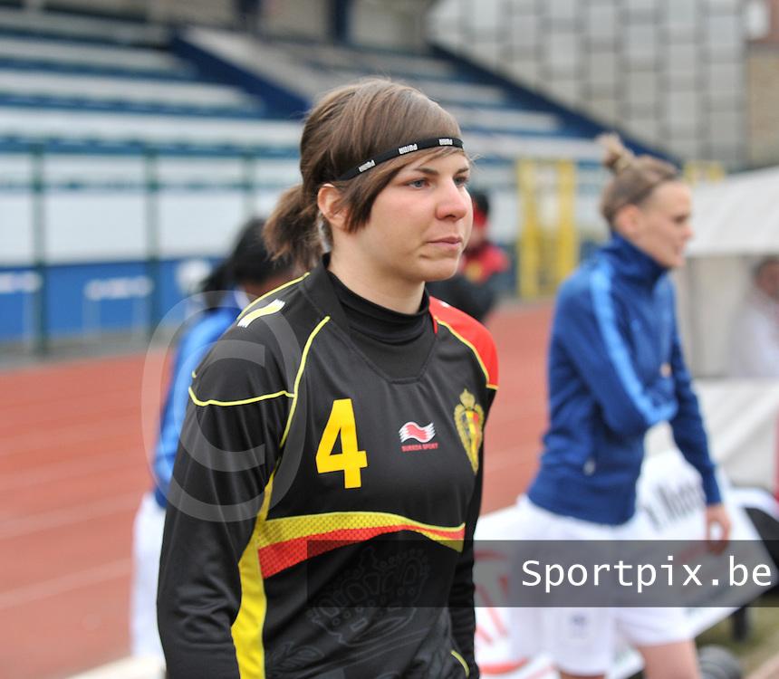 France U19 - Belgium U19 : Karen Verrydt.foto DAVID CATRY / Nikonpro.be