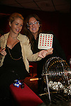 One Life To Live's Bree Williamson and BethAnn Bonner call Celebrity Bingo on Sat. May 22 during We Love Soaps Weekend on  May 21 and May 22 2010 at Villa Roma Resort in Callicoon, New York. (Photo by Sue Coflin/Max Photos)