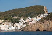 The area of Santa Maria on the island of Ponza, Italy
