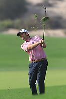 Thomas Aiken (RSA) on the 2nd during Round 3 of the Omega Dubai Desert Classic, Emirates Golf Club, Dubai,  United Arab Emirates. 26/01/2019<br /> Picture: Golffile | Thos Caffrey<br /> <br /> <br /> All photo usage must carry mandatory copyright credit (© Golffile | Thos Caffrey)