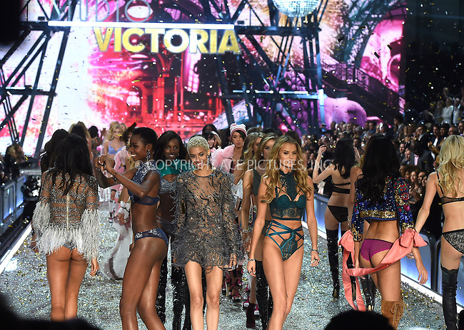 www.acepixs.com<br /> <br /> November 30 2016, New York City<br /> <br /> Models on the runway during the Victoria's Secret Fashion Show on November 30, 2016 in Paris, France.<br /> <br /> By Line: Alain Benainous/ACE Pictures<br /> <br /> <br /> ACE Pictures Inc<br /> Tel: 6467670430<br /> Email: info@acepixs.com<br /> www.acepixs.com