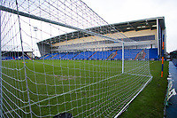 A general view of Boundary Park, home of Oldham Athletic FC ahead of the Sky Bet League 1 match between Oldham Athletic and Fleetwood Town at Boundary Park, Oldham, England on 26 December 2017. Photo by Juel Miah / PRiME Media Images.