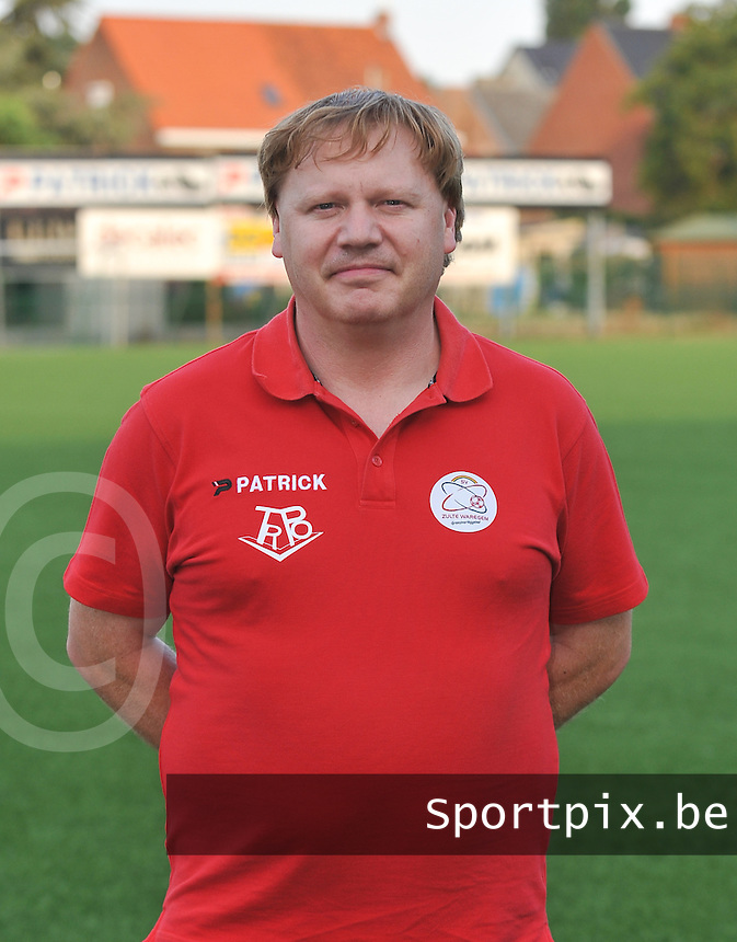 SV Dames Zulte Waregem : Geert De Poorter.foto DAVID CATRY / Vrouwenteam.be
