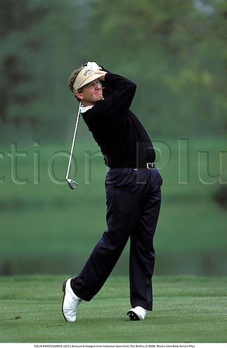 COLIN MONTGOMERIE (SCO), Benson & Hedges International Open Golf, The Belfry, 010509. Photo: Glyn Kirk/Action Plus...2001.golfer golfers