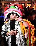 Ann Simmons at the Mardi Gras Ball at the Tremont House in Galveston Saturday Feb. 13,2010.(Dave Rossman Photo)