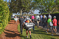 Tyrrell Hatton (ENG) makes his way to 2 during round 3 of the Arnold Palmer Invitational at Bay Hill Golf Club, Bay Hill, Florida. 3/9/2019.<br /> Picture: Golffile | Ken Murray<br /> <br /> <br /> All photo usage must carry mandatory copyright credit (© Golffile | Ken Murray)