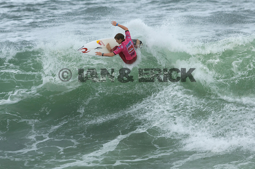 Australia's Ben Dunn During the Quiksilver Pro in the south of France.