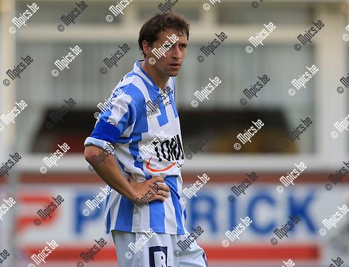 2010-06-22 / Voetbal / seizoen 2010-2011 / Verbroedering Geel-Meerhout / Thomas Van Aerschot..Foto: mpics