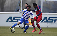 Eduardo Vargas of QPR Joevin Jones of Chicago Fire