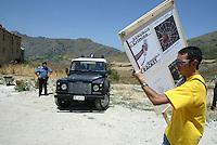 Portella della Ginestra, luglio 2005, La 48 ore contro la mafia all'Agriturismo Placido Rizzotto.