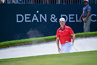 Zach Johnson (USA) hits from the sand on 9 during round 2 of the Dean &amp; Deluca Invitational, at The Colonial, Ft. Worth, Texas, USA. 5/26/2017.<br /> Picture: Golffile | Ken Murray<br /> <br /> <br /> All photo usage must carry mandatory copyright credit (&copy; Golffile | Ken Murray)