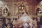 THREE BUDDHAS ON ALTER