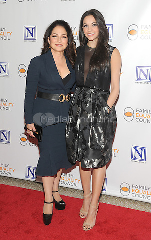 NEW YORK, NY - MAY 09: Gloria Estefan and Ana Vilafane attends the 11th Annual Family Equality Council Night at the Pier at Pier 60 on May 9, 2016 in New York City.  Photo Credit: John Palmer/Media Punch