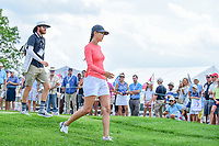 Michelle Wie (USA) didn't play but just walked the back 9 during Wednesday's preview of the 72nd U.S. Women's Open Championship, at Trump National Golf Club, Bedminster, New Jersey. 7/12/2017.<br /> Picture: Golffile | Ken Murray<br /> <br /> <br /> All photo usage must carry mandatory copyright credit (&copy; Golffile | Ken Murray)