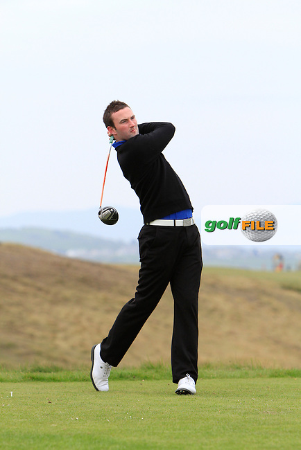 Barry Anderson (Royal Dublin) during round 2 of The West of Ireland Amateur Open in Co. Sligo Golf Club on Saturday 19th April 2014.<br /> Picture:  Thos Caffrey / www.golffile.ie