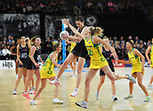 5th October 2017, Spark Arena, Auckland, New Zealand; Constellation Cup, New Zealand Silver Ferns versus Australia Diamonds;   New Zealand's Bailey Mes