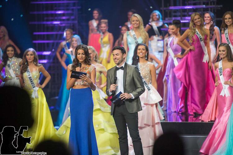 Miss Teen USA Preliminaries at The Venetian Showroom in Las Vegas 2015 winner  Miss Katherine Haik (blue dress)
