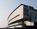 Il rinnovato Museo dell'Automobile in via di completamento.