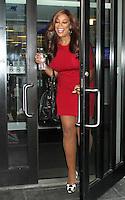 August 02, 2012: Wendy Williams leaving Fox 5 studios after co-hosting Good Day NY in New York City. © RW/MediaPunch Inc. /NortePhoto.com<br /> <br /> **SOLO*VENTA*EN*MEXICO**<br /> **CREDITO*OBLIGATORIO** <br /> *No*Venta*A*Terceros*<br /> *No*Sale*So*third*<br /> *** No Se Permite Hacer Archivo**<br /> *No*Sale*So*third*