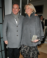 Hugh Bonneville and Lulu Williams at the Services To Film inaugural gala dinner in aid of Walking With The Wounded charity, BAFTA, Piccadilly, London, England, UK, on Tuesday 06 February 2018.<br /> CAP/CAN<br /> &copy;CAN/Capital Pictures