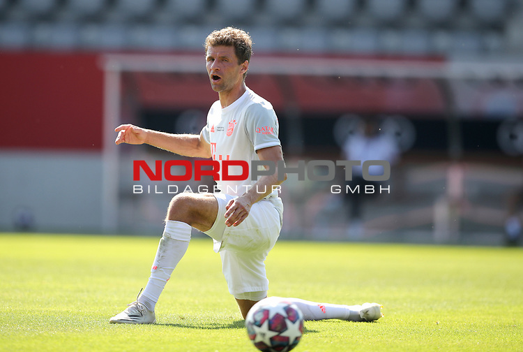 Thomas Müller Mueller #25 von FC Bayern Muenchen<br />