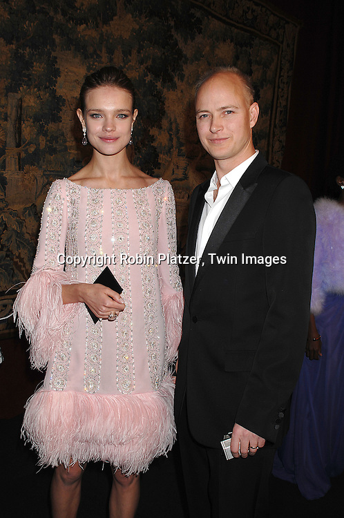 Natalia and Justin Portman..arriving at The 7th on Sale Black Tie Gala Dinner on ..November 15, 2007 at The 69th Regiment Armory in New York. The Fashion Industry's Battle Against HIV and AIDS..will benefit...Robin Platzer, Twin Images