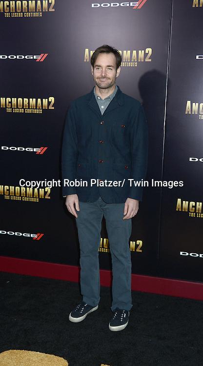 """Will Forte attends the U.S. Premiere of Paramount Pictures'   """"Anchorman 2: The Legend Continues""""  on  December 15, 2013 at the Beacon Theatre in New York City."""