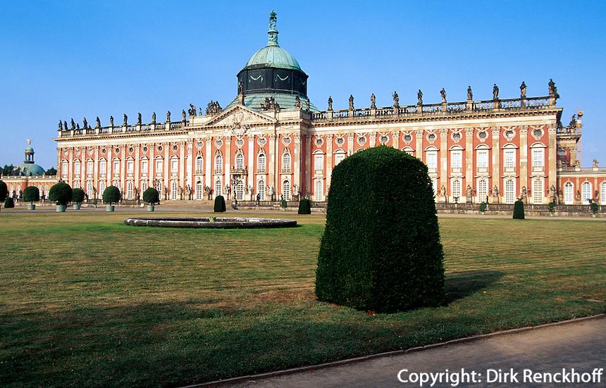 Sanssouci, Neues Palais, Potsdam, Deutschland, Unesco-Weltkulturerbe