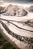 USA, Alaska, scenic view of brooks glacier, Denali National Park
