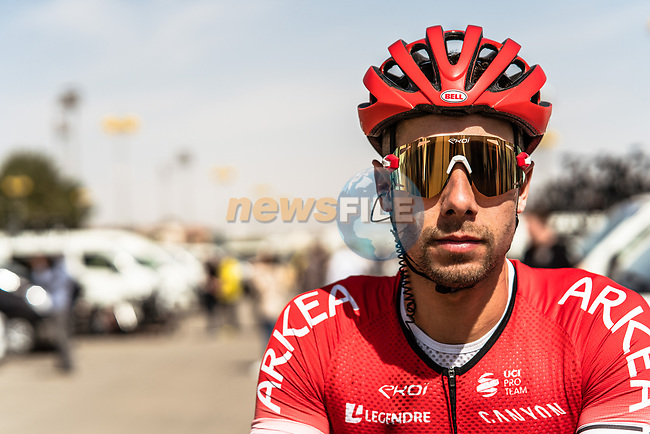 Benoit Jarrier (FRA) Team Arkea Samsic at sign on before the start of Stage 1 of the Saudi Tour 2020 running 173km from Saudi Arabian Olympic Committee to Jaww, Saudi Arabia. 4th February 2020. <br /> Picture: ASO/Kåre Dehlie Thorstad   Cyclefile<br /> All photos usage must carry mandatory copyright credit (© Cyclefile   ASO/Kåre Dehlie Thorstad)