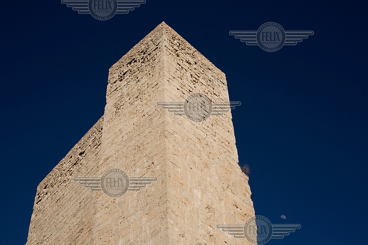 Miravet Castle in the Ebro Valley.
