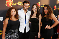 """LOS ANGELES - JUL 11:  Corbin Bleu, wife, sisters at the """"Descendants 2"""" Premiere Screening at the Cinerama Dome at ArcLight on July 11, 2017 in Los Angeles, CA"""