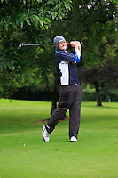 Jake Whelan (Newlands) on the 3rd tee during round 1 of The Mullingar Scratch Cup in Mullingar Golf Club on Sunday 3rd August 2014.<br /> Picture:  Thos Caffrey / www.golffile.ie