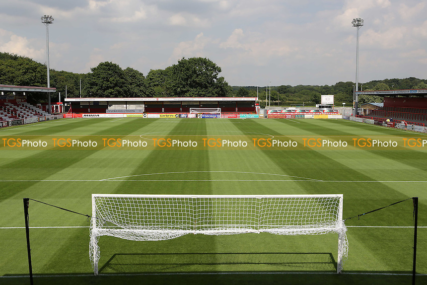 General view of  Stevenage Borough FC prior to the start of the season during Stevenage vs Brighton and Hove Albion, Friendly Match Football at the Lamex Stadium on 23rd July 2016