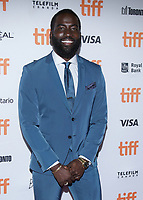 """TORONTO, ONTARIO - SEPTEMBER 08: Shamier Anderson attends """"Endings, Beginnings"""" premiere during the 2019 Toronto International Film Festival at Ryerson Theatre on September 08, 2019 in Toronto, Canada. <br /> CAP/MPI/IS/PICJER<br /> ©PICJER/IS/MPI/Capital Pictures"""
