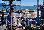 Refinaria de carvao, Industria Carboquimica Catarinense ICC. Imbituba. Santa Catarina. 1983. Foto de Juca Martins.